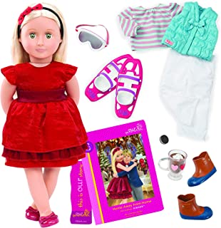 Our Generation Deluxe Doll - Ginger and Home Away From Home Book