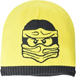 Snow Beanie with Large Lego Ninjago Man (Little Kids/Big Kids)