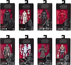 Star Wars The Black Series Case Pack of Wave One Figures: Supreme Leader Kylo Ren, Rey & Do, Sith Trooper, The Mandalorian, Cal Kestis, S Sister Inquisitor, First Order Stormtrooper, Jawa 6
