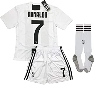f1563bb3451 LiveSport New 2018-2019 Ronaldo  7 Juventus Home Jersey Shorts and Socks  for Kids