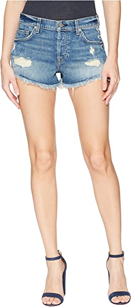Boyfriend Shorts w/ Wave Hem in Canyon Ranch 6
