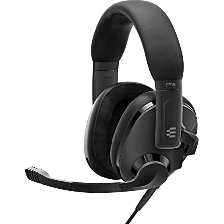 EPOS H3 Closed Acoustic Gaming Headset with Noise-Cancelling Microphone - Plug & Play Audio - Around The Ear - Adjustable, Ergonomic - for PC, Mac, PS4, PS5, Switch, Xbox - Onyx Black