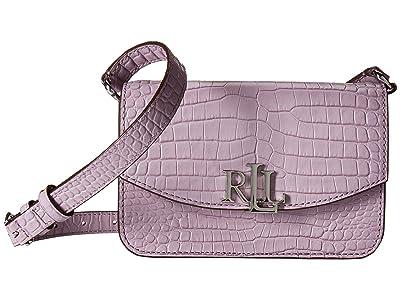 LAUREN Ralph Lauren Elmswood Madison 18 Crossbody (Lavender) Handbags