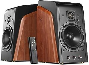 Swan Speakers - M300 - Powered Bookshelf Speakers - Living Room Speakers - 240W RMS - 2 Year Warranty