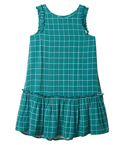 PEEK Jackie Dress (Toddler/Little Kids/Big Kids) (Dark Teal) Girl