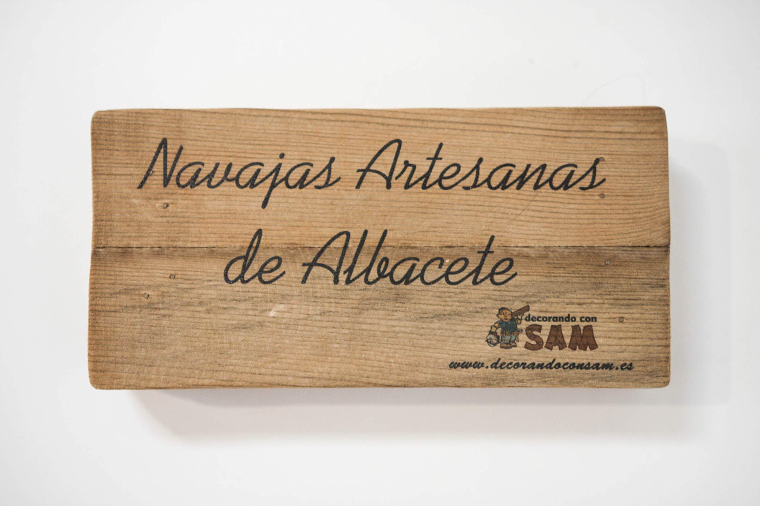 Navaja de Albacete Hecha a Mano Modelo Teja Especial España Sam ...