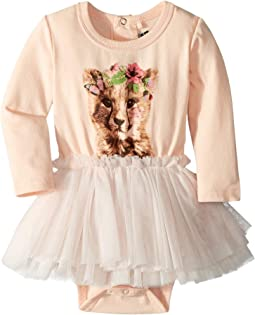 Floral Cheetah Circus Dress (Infant)