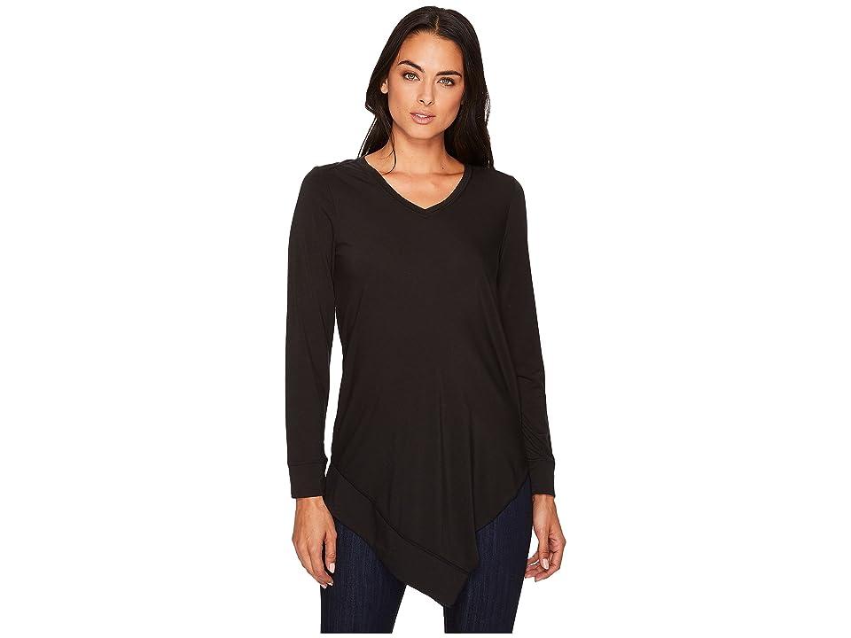 ExOfficio Wanderlux V-Neck Tunic (Black) Women