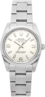Air-King Mechanical (Automatic) Silver Dial Womens Watch 114200 (Certified Pre-Owned)