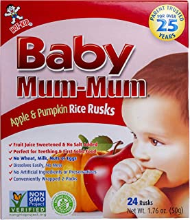gluten free teething rusks