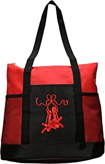 Girls Dance Ballet Slipper Tote Bag