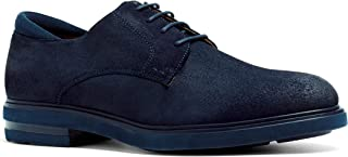 Anthony Veer Men's Calvin Hybrid Leather Suede Lightweight Comfort Lace-up Dress Shoe