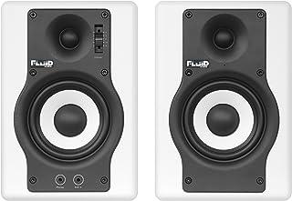 Fluid Audio F4W - Monitores de estudio, color blanco