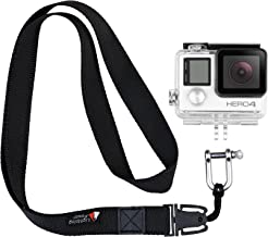 TXEsign Gopro Neck Strap Detachable Lanyard with Stainless Steel Shackle for GoPro Mount Adapter