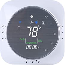 Updated Version Wifi Smart Thermostat with Touch Screen,Air Conditioner Thermostat with Frosted Display,Lockable,Real-time...