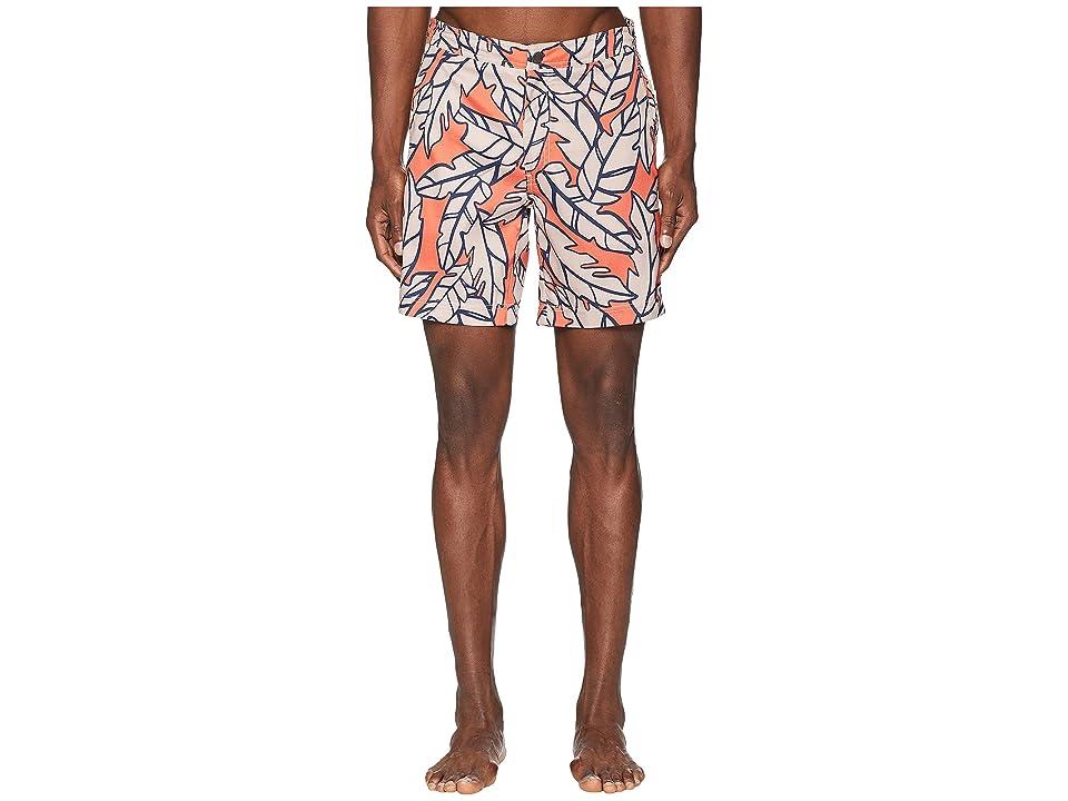 onia Calder 7.5 Swim Shorts (Bonfire) Men