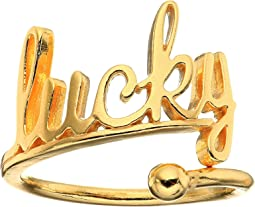 Lucky Ring Wrap - Precious Metal