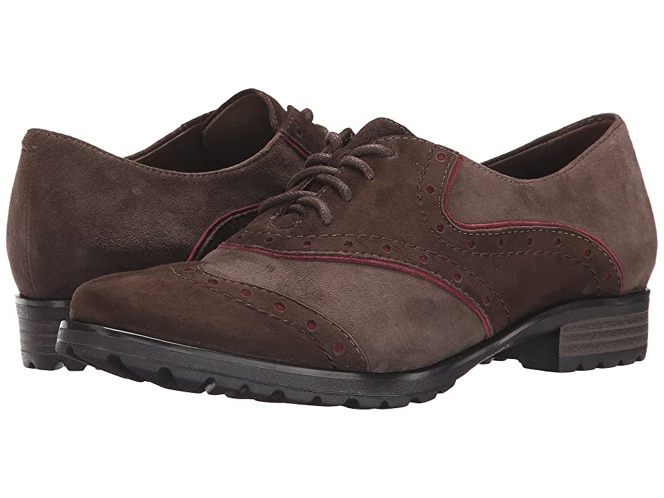 Earth Berlin Earthies (Dark Brown Suede) Women