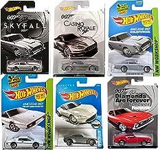 Hot Wheels James Bond Exclusive Skyfall Casino Royale Aston Martin DBS Edition + Daniel Craig Spectre Set Aston Martin DB10 & DB5 Silver Goldfinger Model Car 007 Spy Lotus Esprit Ford Mustang Mach 1