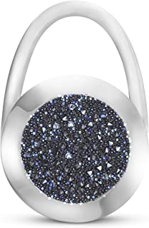 Moonlight Glam Charms Crystals by Swarovski® - Soporte para bolso, fabricado a mano en Alemania