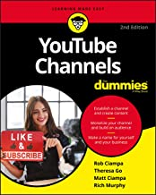YouTube Channels For Dummies (For Dummies (Computer/Tech))