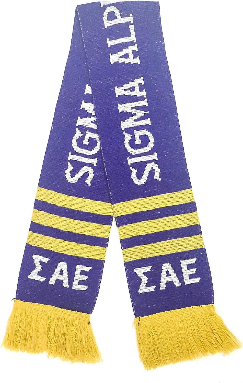Sigma Alpha Epsilon Fraternity Letter Winter Scarf Greek Cold Weather Winter SAE