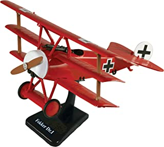 New Ray German Fokker DR.1 Classic Model Kit: The Red Baron German Triplane - 1:32 Scale