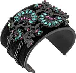 Steve Madden Floral Patterned Bangle