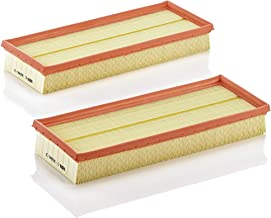 Mann Filter C 3698/3-2 Air Filter Element, (Set of 2)