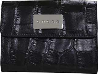 Cross Women's Genuine Leather Medium Purse with Credit Card Slot - Black