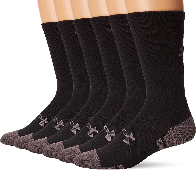 Under Armour Adult Cotton 6-pairs Socks Max Bargain sale 83% OFF Crew