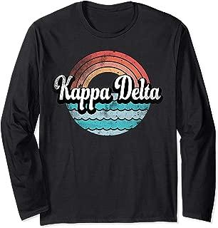 Kappa Delta Sorority College Sisters Alumni Gift Idea Long Sleeve T-Shirt