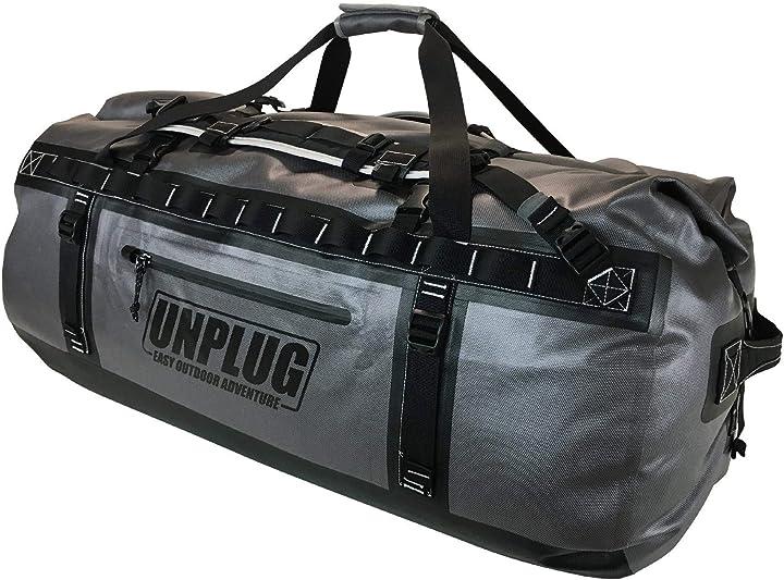 Borsa impermeabile 1680d proteggi i tuoi oggetti in qualunque condizione unplug B08PF1VC4F