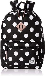7b53ab0c5d Herschel Kids  Heritage Youth XL Children s Backpack Polka Dot Ash Rose ...