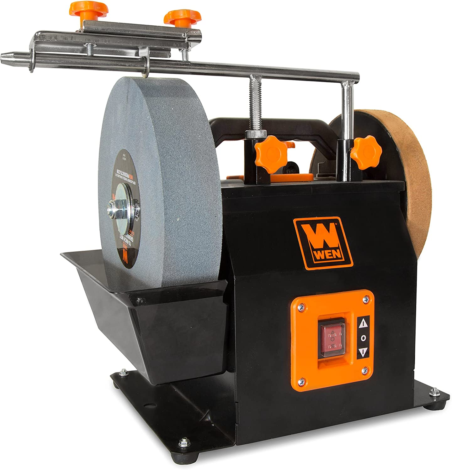 Seattle Mall WEN Max 51% OFF BG4270T 10-Inch Two-Direction Water Dry Cooled Wet Sharpenin