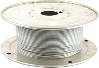 QFDM Durable Crane Accessories PVC Coated Steel Wire Cable 304-Stainless-Steel Flexible Wire Rope 1.2//3//5mm Dia 5~10m Long Soft Lifting Cable Clothesline 1pcs Stainless Steel Fittings