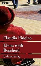 Elena weiß Bescheid: Roman (Unionsverlag Taschenbücher) (German Edition)