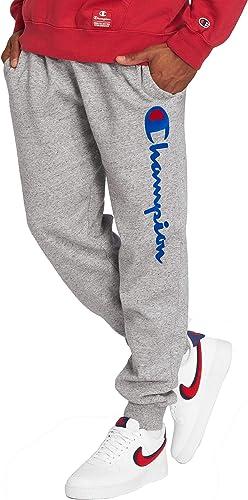 Champion - Pantalon de détente Bleu 212262 Impression de la Marque