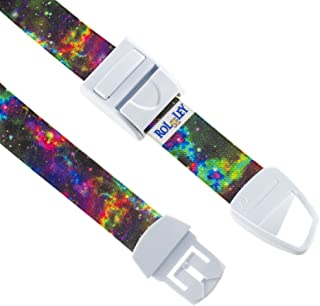 ROLSELEY Profesional Quick and Slow Release Medical Nurse Tourniquet with Multicolour Galaxy Pattern