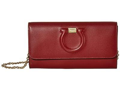 Salvatore Ferragamo City Mini Bag (Red Chile) Handbags