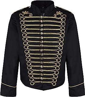 Ro Rox Steampunk Napoleon Officier Parade Jacket voor heren