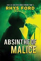 Absinthe of Malice (Série Sinners (Français) t. 5) Format Kindle