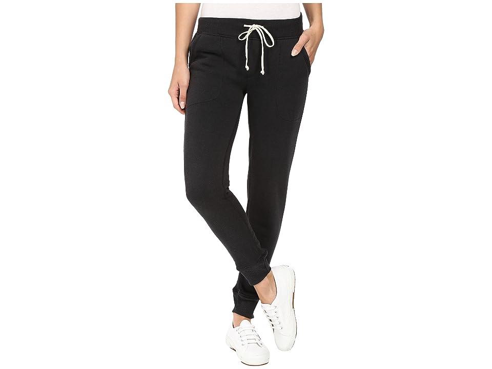 Alternative Eco Fleece Jogger Pant (True Black) Women
