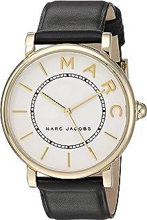 ساعة روكسي من مارك باي مارك جايكوب بمينا اوف وايت وسوار جلدي - MJ1532