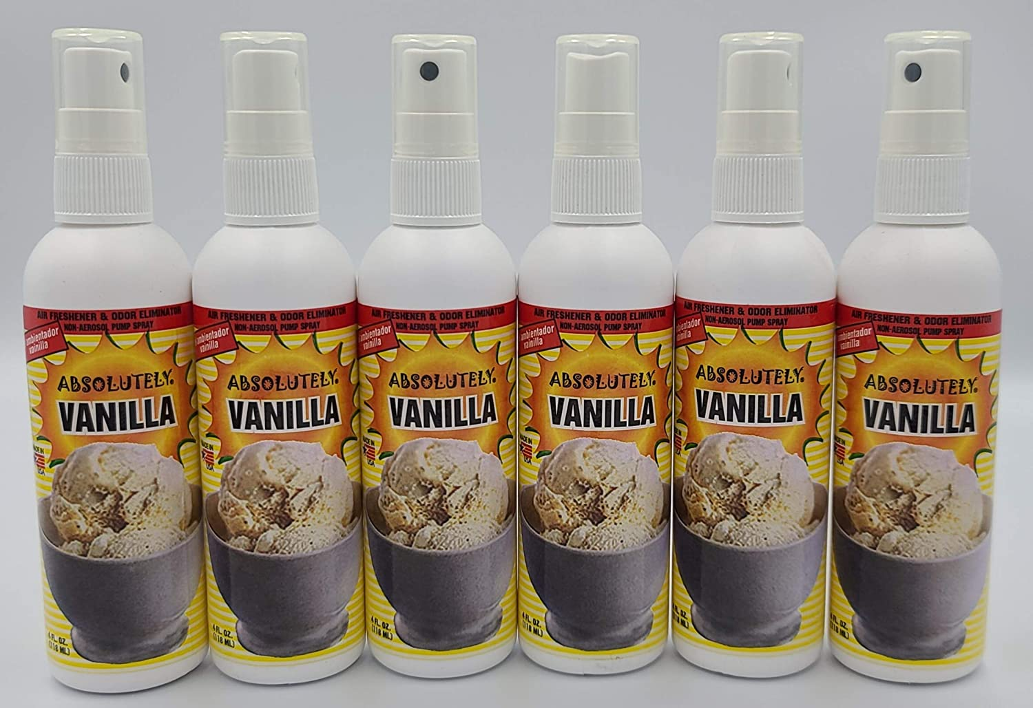 Absolutely Air Fresheners Odor Eliminator Ranking TOP10 6 Pack - Sce quality assurance Vanilla