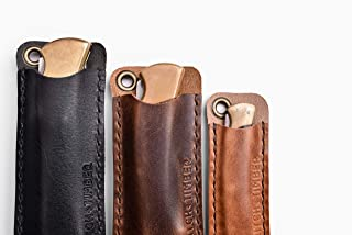 The Buck Slip - Leather EDC Pocket Knife Sleeve for Everyday Carry