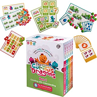 The Curious Dragons - Counting With Understanding - Five Fun, Structured Games - Multi Award Winning Educational Maths Gam...