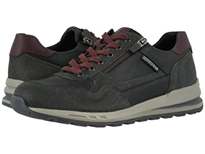 Mephisto Bradley (Dark Grey/Black/Burgundy) Men