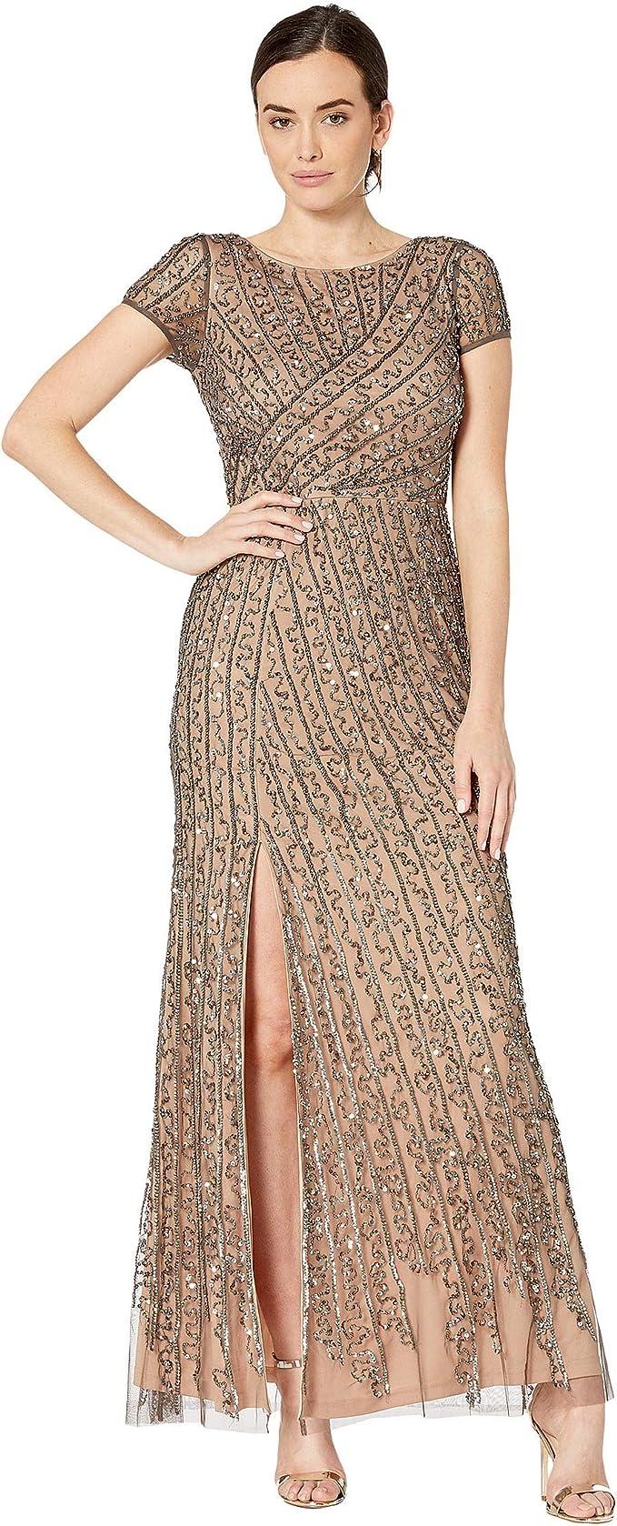 Beaded Dress, Long Sleeve Beaded Dress,beaded dress,
