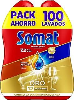 Somat Oro Gel Detergente Lavavajillas Vinagre - 100 Lavados